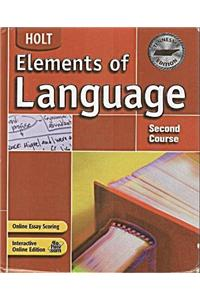 Holt Elements of Language Tennessee: Student Edition Grade 8 2004