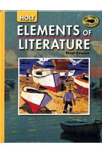 Holt Elements of Literature North Carolina: Student Edition Grade 7 2005