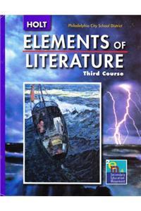 Holt Elements of Literature Pennsylvania: Student Edition Grade 9 2005