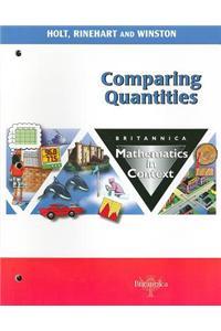 Comparing Quantities: Britannica Mathematics in Context