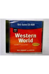 Holt Western World: Quiz Games CD-ROM Grades 6-8