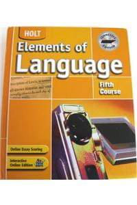 Holt Elements of Language Tennessee: Student Edition Grade 11 2004
