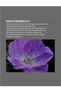 Knochenbruch: Distale Radiusfraktur, Schenkelhalsfraktur, Pertrochantare Femurfraktur, Knochenbruchbehandlung, Patellafraktur