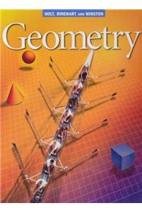 Holt Geometry: Student Edition Geometry 2001
