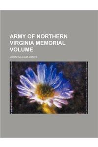 Army of Northern Virginia Memorial Volume
