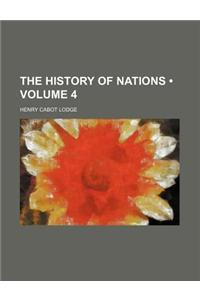 The History of Nations (Volume 4)