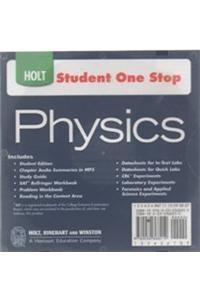 Holt Physics: Student One Stop CD-ROM 2009