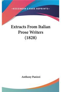 Extracts from Italian Prose Writers (1828)