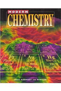 Holt Modern Chemistry: Student Edition Grades 9-12 1999