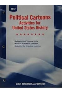 Holt Social Studies: United States History: Political Cartoons Activities