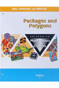 Holt Math in Context: Student Edition Packages & Polygons Grade 7 2003