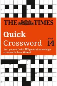 Times Quick Crossword Book 14