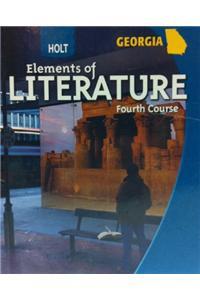 Holt Elements of Literature Georgia: Student Edition Grade 10 2005