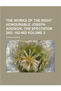 The Works of the Right Honourable Joseph Addison Volume 3; The Spectator [No. 162-483