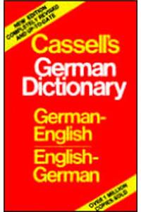 Cassell's German Dictionary: German-English, English-German