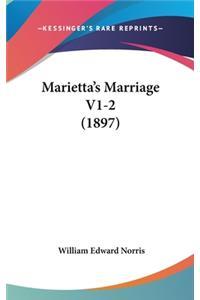 Marietta's Marriage V1-2 (1897)