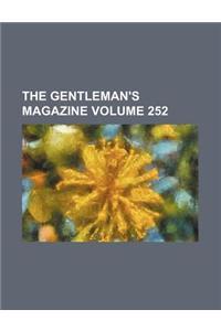 The Gentleman's Magazine Volume 252