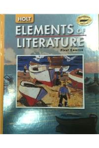 Holt Elements of Literature Tennessee: Student Edition Grade 7 2005