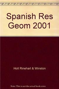 Spanish Res Geom 2001