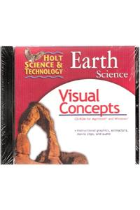 Holt Science & Technology: Earth Science: Visual Concepts CD-ROM