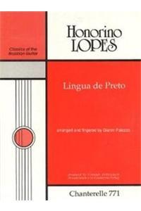 Lopes: Lingua de Preto