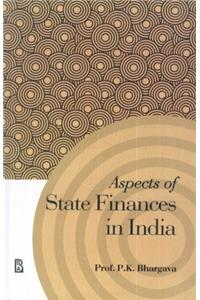 Aspects of State Finances in India