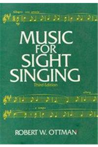 Music for Sightsinging [With CD]