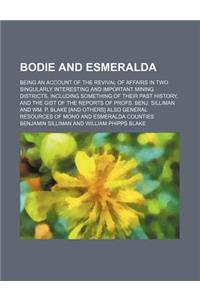 Bodie and Esmeralda; Being an Account of the Revival of Affairs in Two Singularly Interesting and Important Mining Districts, Including Something of T