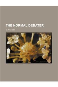 The Normal Debater