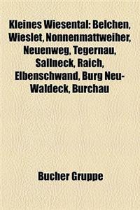Kleines Wiesental: Belchen, Wieslet, Nonnenmattweiher, Neuenweg, Tegernau, Sallneck, Raich, Elbenschwand, Burg Neu-Waldeck, Burchau