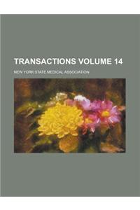 Transactions Volume 14