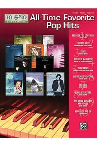 10 for 10 Sheet Music All-Time Favorite Pop Hits