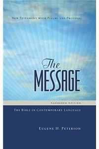 Message Personal New Testament with Psalms and Proverbs-MS Numbered: The Bible in Contemporary Language