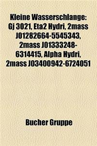 Kleine Wasserschlange: Gj 3021, Eta2 Hydri, 2mass J01282664-5545343, 2mass J01333248-6314415, Alpha Hydri, 2mass J03400942-6724051