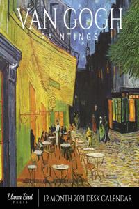 Van Gogh Paintings 2021 Desk Calendar