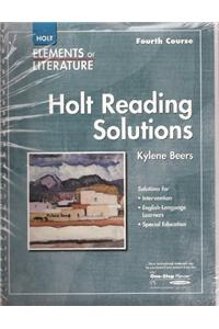 Elements of Literature: Reading Solutions Fourth Course