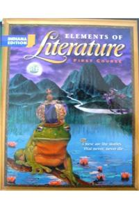 Holt Elements of Literature Indiana: Student Edition Eolit 2003 Grade 7 2003