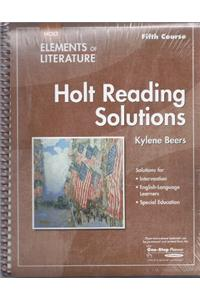 Elements of Literature: Reading Solutions Fifth Course