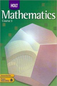 Holt Mathematics Wisconsin: Test Prep Workbook Course 3