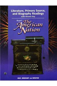 Holt American Nation: Lit Prim Source and Biog Boyers Grades 9-12