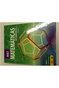 Holt Mathematics: Spanish Student Edition Course 3 2004