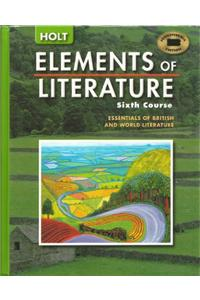 Holt Elements of Literature New York: Student Edition Grade 12 2005
