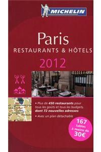 Michelin Red Guide 2012 Paris