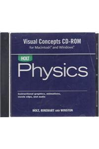 Holt Physics: Visual Concepts CD-ROM