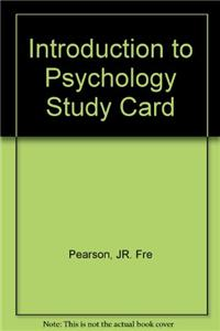 Introduction to Psychology Study Card