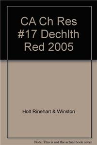 CA Ch Res #17 Dechlth Red 2005