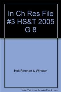 In Ch Res File #3 HS&T 2005 G 8