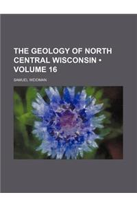 The Geology of North Central Wisconsin (Volume 16)