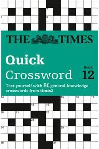 Times Quick Crossword Book 12