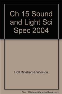 Ch 15 Sound and Light Sci Spec 2004